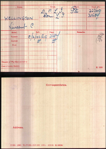 VCW Military Record 1
