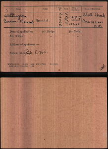 VCW Military Record 2